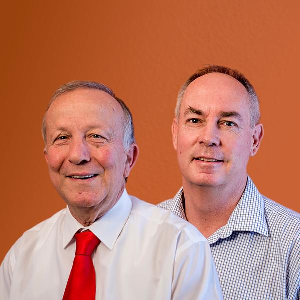 Chris Kazonis and Tony Andrew